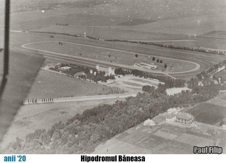 Hipodromul Baneasa, vedere aeriana