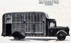 Vincent horse box