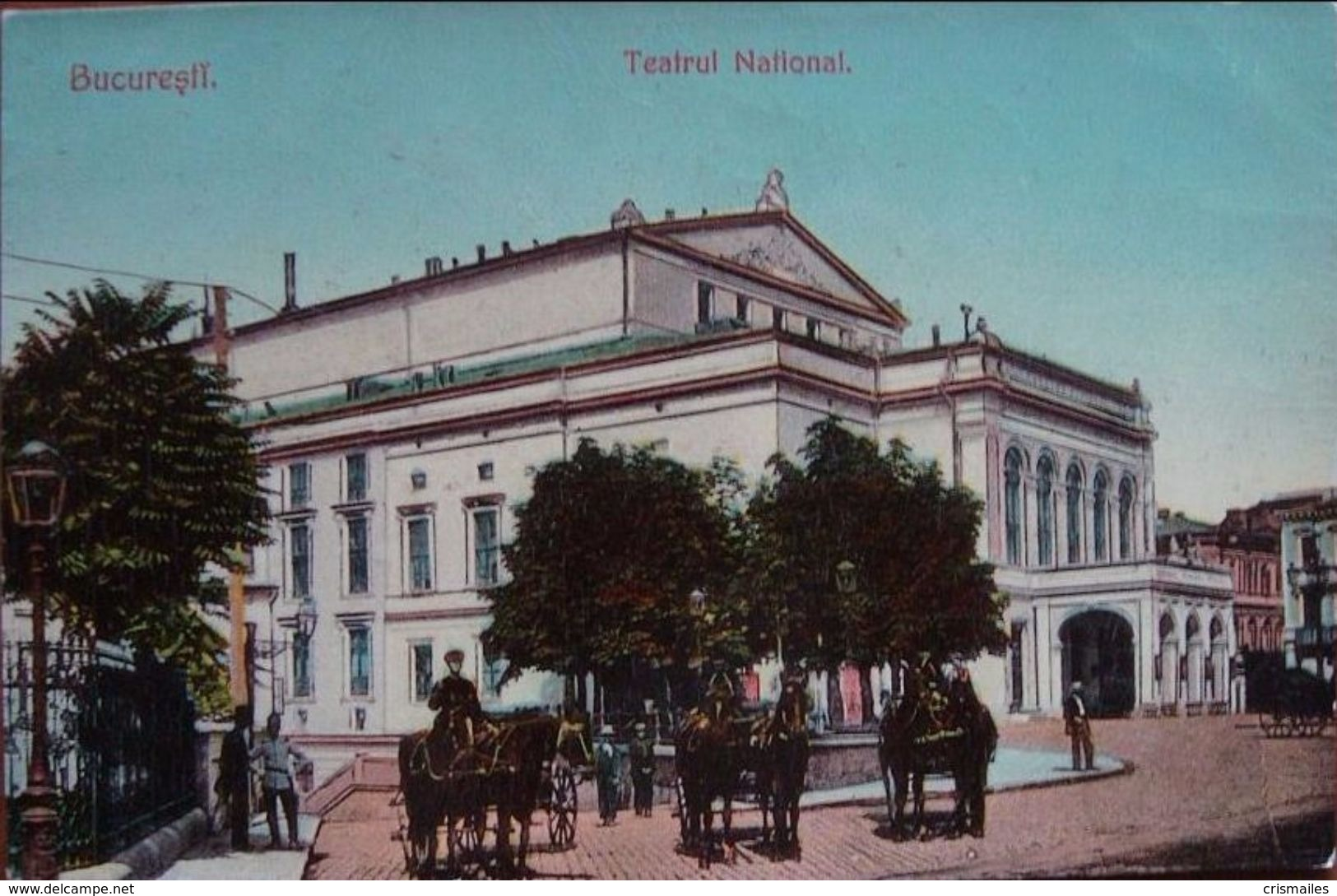 Teatrul National - Muscal 1910
