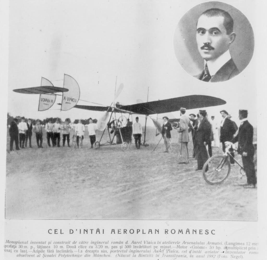 Aurel_Vlaicu_primul zbor