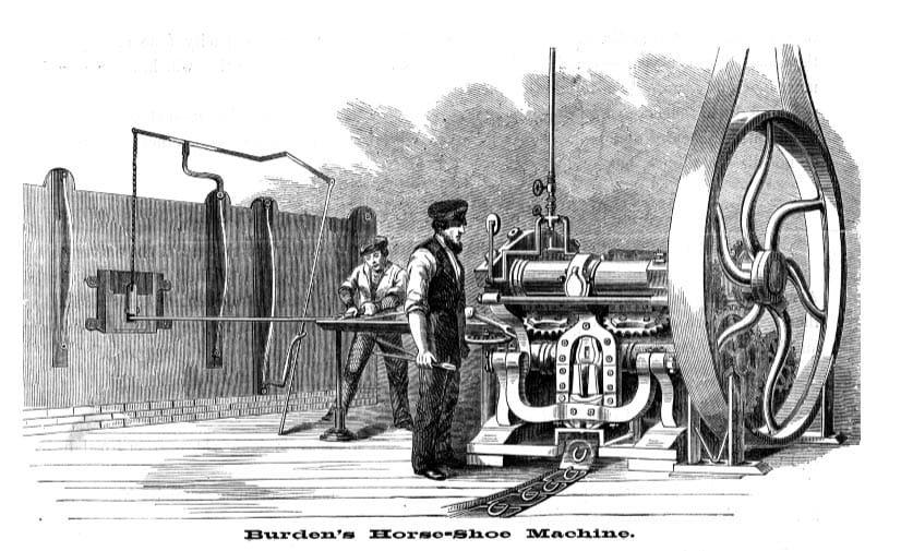 Masina de potcoave Burden