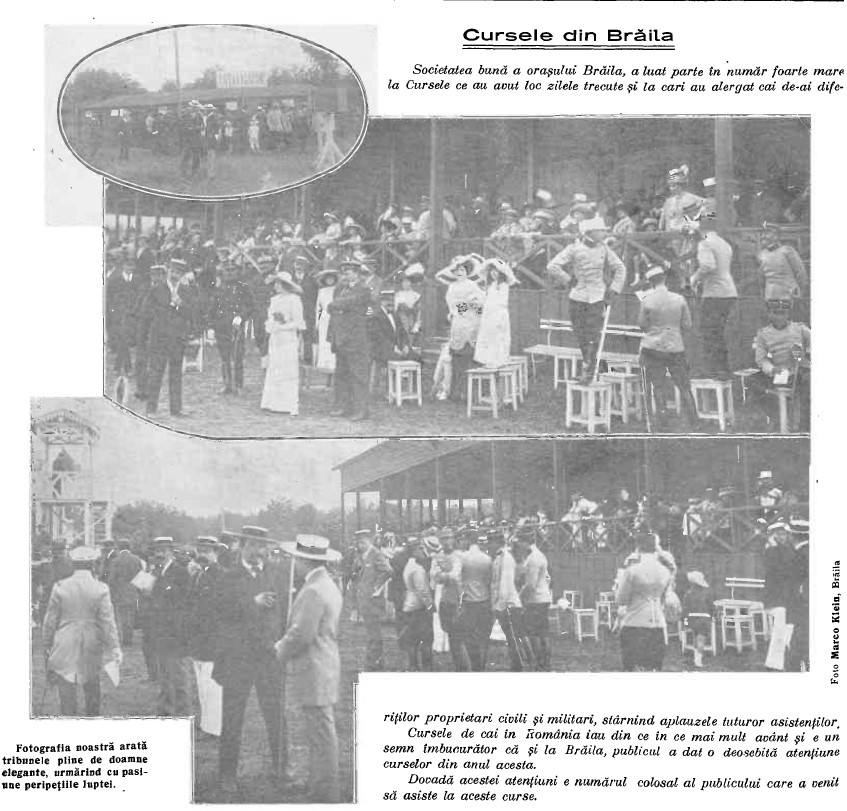 Cursele din Braila 1912