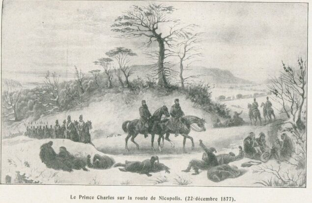 Carol I și armata sa la Nicopole