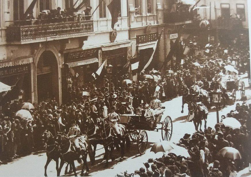 Cortegiul regal 1900