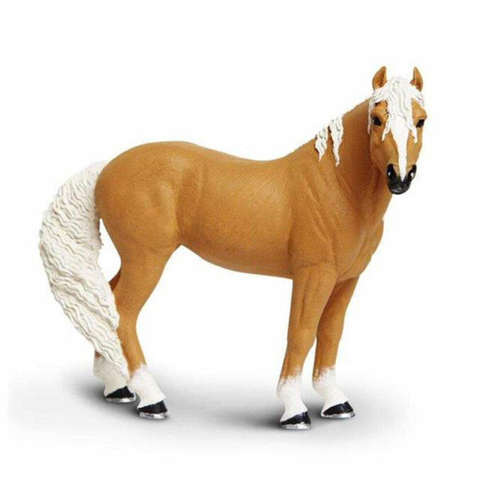 Figurină iapă Palomino