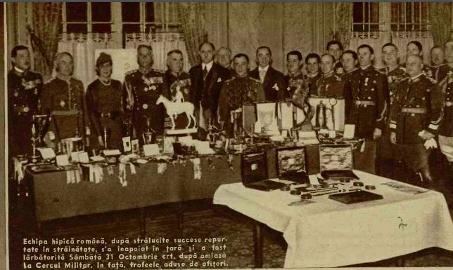 4 noiembrie 1936 - Echipa hipica