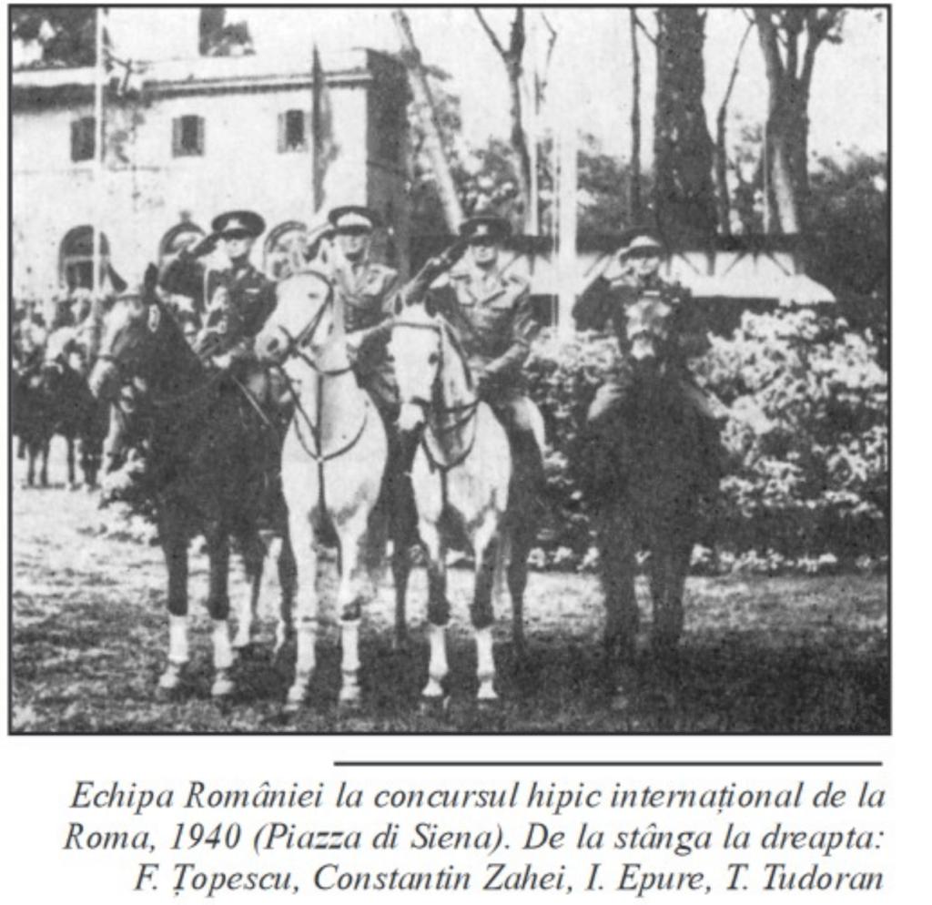 Echipa României la Roma - 1940